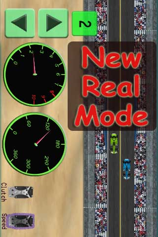 Screenshot iDrag Racer