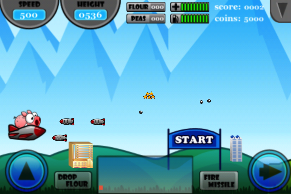 Screenshot Piggy Bomb Lite
