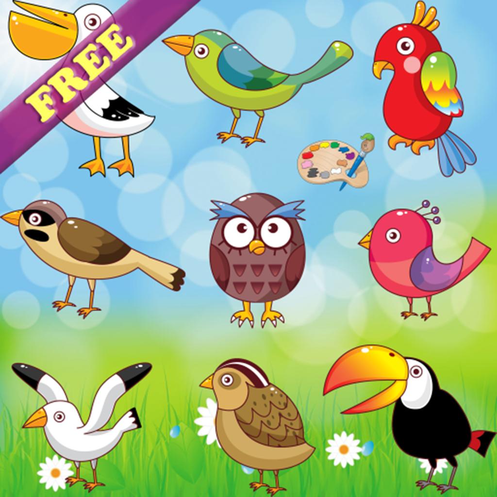 Free coloring pages app - Free Coloring Pages And Pictures App Icon